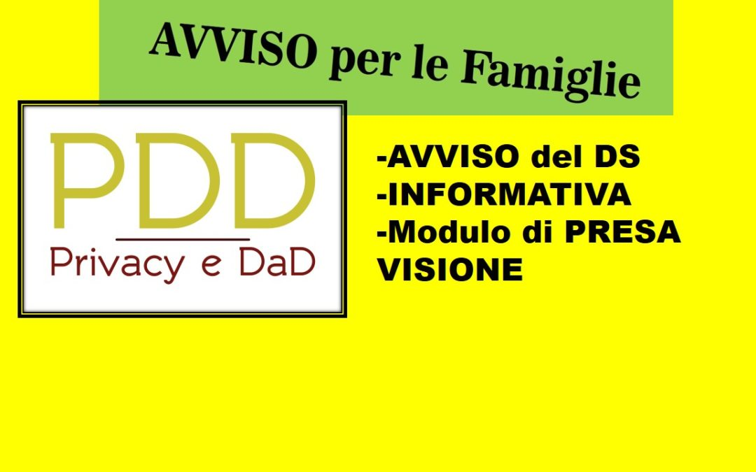 DAD- Documenti Privacy